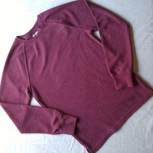 Goodfellow Long Sleeve Thermal/Sweater Crewneck